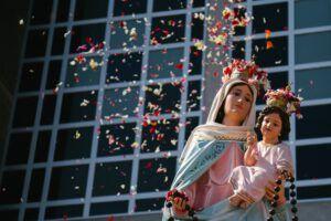 Viregen del Rosario de San Nicolás.